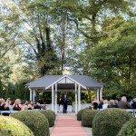 outdoor ceremony garden location