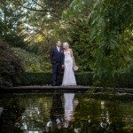 married couple by the pond