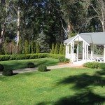 our outdoor gazebo is perfect for wedding ceremonies