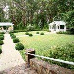 garden ceremony area