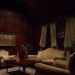drawing room at night