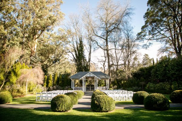 Beautiful garden ceremony