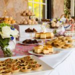 high tea buffet at Marybrooke