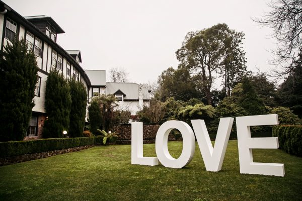Love Weddings | Signs of Love in the Dandenong Ranges