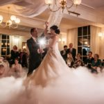 Dry Ice First dance as husband and wife